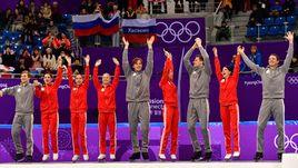 Фигурное катание: есть первая медаль. Лучшие кадры