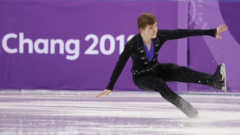 Михаил КОЛЯДА: падения на олимпийском льду Пхенчхана. Фото Reuters
