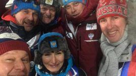 Сегодня. Пхенчхан. Владимир ШИПУЛИН (слева в верхнем ряду).