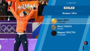 Ирен Вюст - пятикратная олимпийская чемпионка