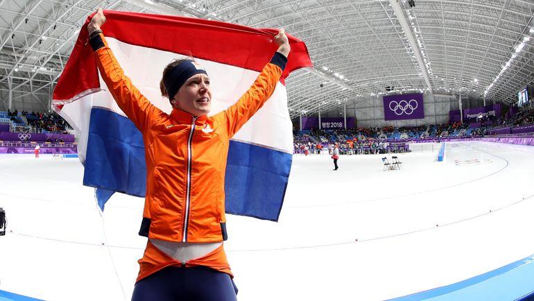 Ирен ВЮСТ - пятикратная олимпийская чемпионка. Фото REUTERS