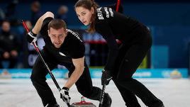 Анастасия БРЫЗГАЛОВА и Александр КРУШЕЛЬНИЦКИЙ - открытие Олимпиады-2018.