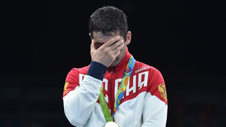 Миша АЛОЯН - серебряный призер Рио, обвиненный в применении запрещенных препаратов. Фото AFP