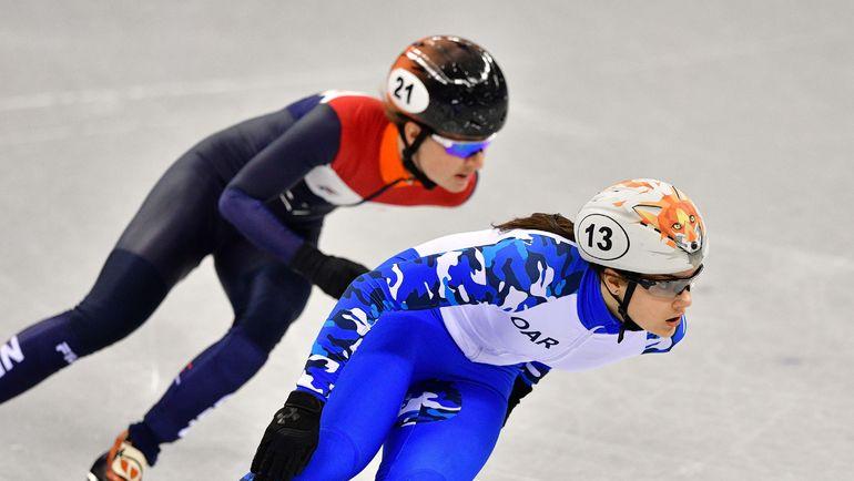 Софья ПРОСВИРНОВА (справа). Фото AFP