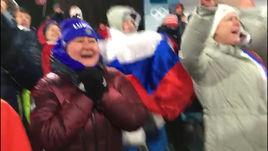 Невероятные эмоции Вяльбе после бронзы Белоруковой. Видео