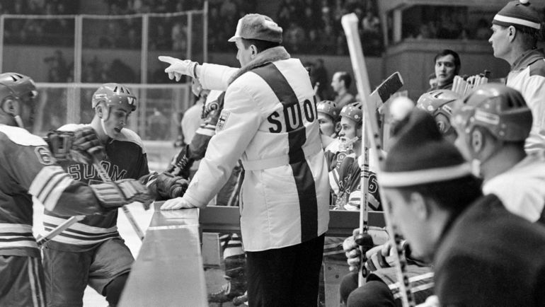 1968 год. Финляндия – Канада – 5:2. Фото www.mtv.fi