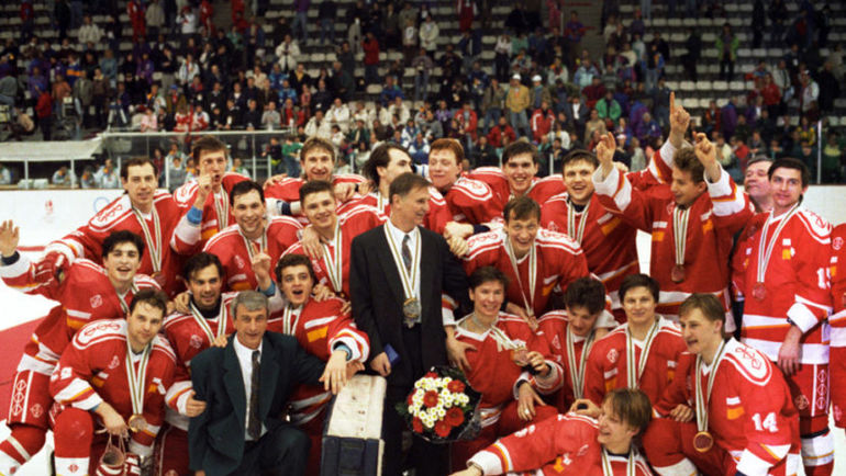 1988 год. Финляндия – СССР – 2:1. Фото http://russianhockeystyle.ru