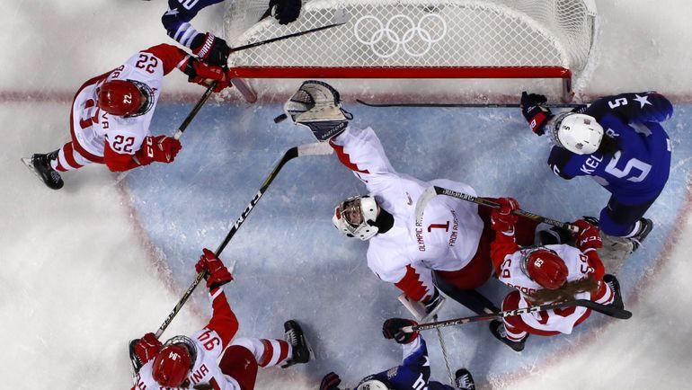 Женская сборная России потерпела второе крупное поражение на Олимпиаде. Фото REUTERS