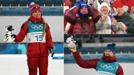 Герои дня на Олимпиаде в Пхенчхане - Юлия БЕЛОРУКОВА, Елена ВЯЛЬБЕ, Александр БОЛЬШУНОВ.