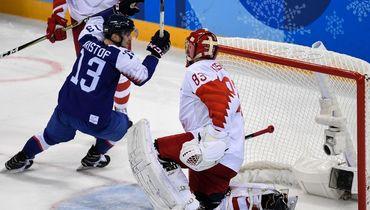 Россия проиграла Словакии на старте хоккейного турнира Олимпиады, упустив перевес в две шайбы