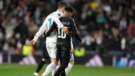 """Среда. Мадрид. """"Реал"""" - """"ПСЖ"""" - 3:1. КРИШТИАНУ РОНАЛДУ и НЕЙМАР."""