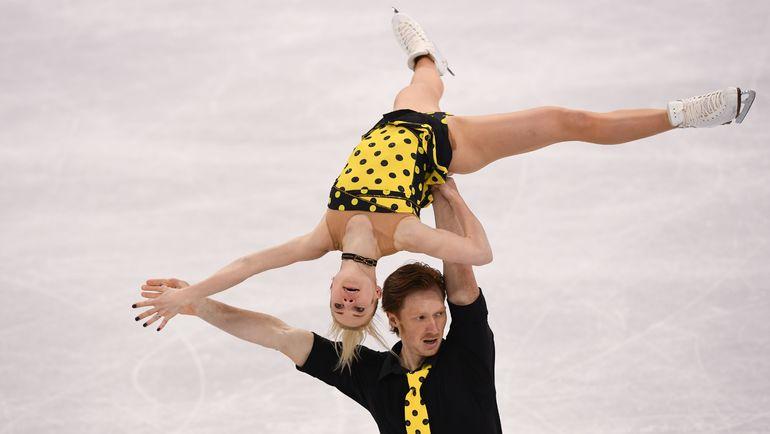 Четверг. Пхенчхан. Евгения ТАРАСОВА и Владимир МОРОЗОВ стали четвертыми. Фото AFP