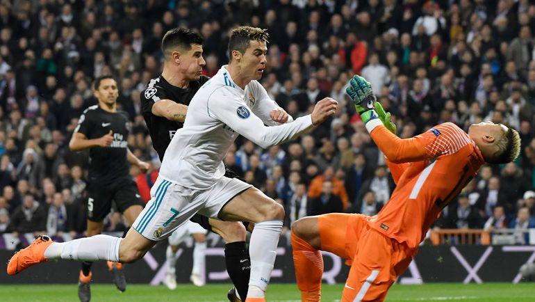 "Среда. Мадрид. ""Реал"" - ""ПСЖ"" - 3:1. Фото AFP"