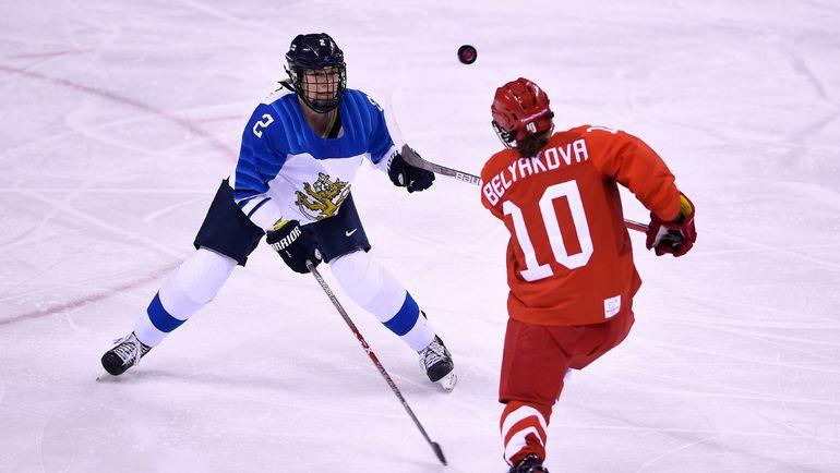 Сегодня. Пхенчхан. Россия – Финляндия - 1:5. Фото AFP