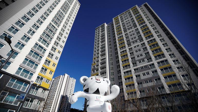 Олимпийская деревня. Фото AFP