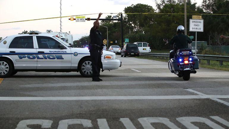 Трагедия произошла 14 феврfля в школе Паркленда (штат Флорида, США). Фото AFP