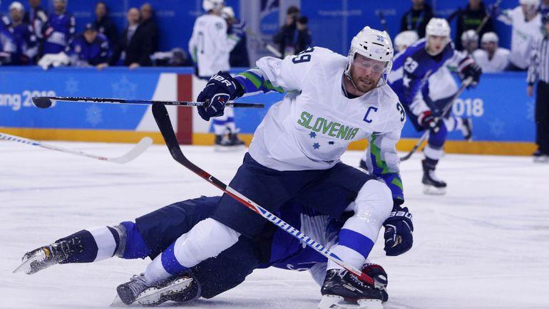 Капитан сборной Словении Ян МУРШАК. Фото Reuters