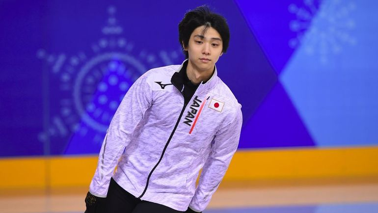 Олимпийский чемпион Сочи Юдзуру ХАНЮ. Фото AFP