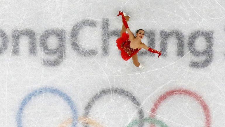 Алина ЗАГИТОВА на олимпийском льду Пхенчхана. Фото REUTERS