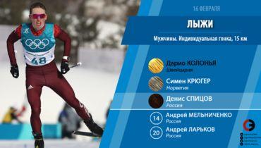 Денис Спицов завоевал бронзу Олимпиады в Пхенчхане в индивидуальной гонке