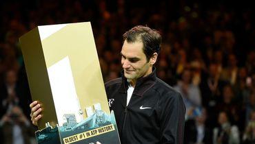 Федерер стал самой возрастной первой ракеткой мира в истории