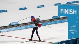 Женский масс-старт. Кузьмина - трехкратная олимпийская чемпионка!