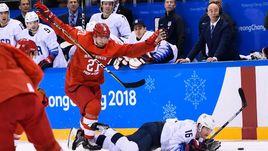 Сегодня. Пхенчхан. Россия - США - 4:0. Россияне напрямую вышли в четвертьфинал Олимпиады-2018.