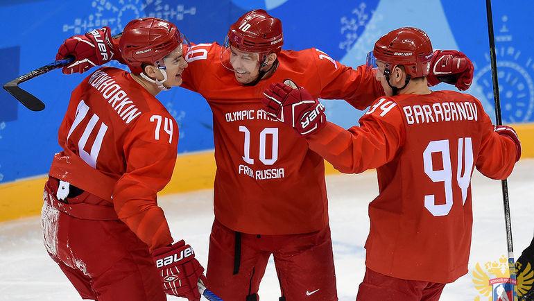Россия остается главным фаворитом этой Олимпиады. Фото ФХР