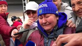 Вяльбе плачет от радости. Главная эмоция Олимпиады