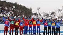 Серебро! Россия - вторая в мужской эстафете