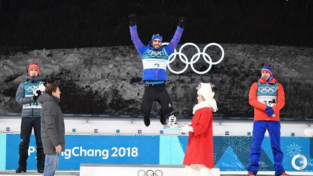 Сегодня. Пхенчхан. Чемпионский прыжок Мартена ФУРКАДА. Фото AFP