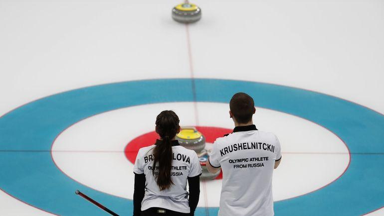 Александр КРУШЕЛЬНИЦКИЙ и Анастасия БРЫЗГАЛОВА: что теперь? Фото REUTERS