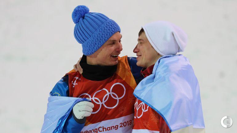 Сегодня. Пхенчхан. Александр АБРАМЕНКО (слева) и Илья БУРОВ.