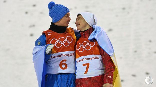 Сегодня. Пхенчхан. Александр АБРАМЕНКО (№6) и Илья БУРОВ. Фото REUTERS