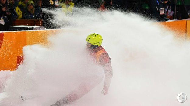 Сегодня. Пхенчхан. Илья БУРОВ. Фото AFP
