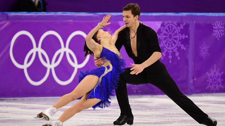 Понедельник. Пхенчхан. Екатерина БОБРОВА и Дмитрий СОЛОВЬЕВ. Фото AFP