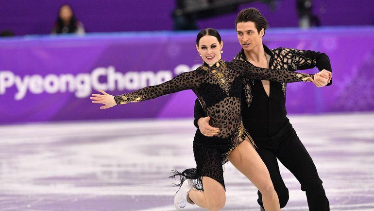 Тесса ВИРТУ и Скотт МОИР. Фото AFP