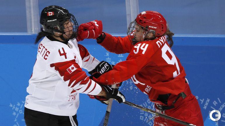 Сегодня. Пхенчхан. Канада – Россия – 5:0.