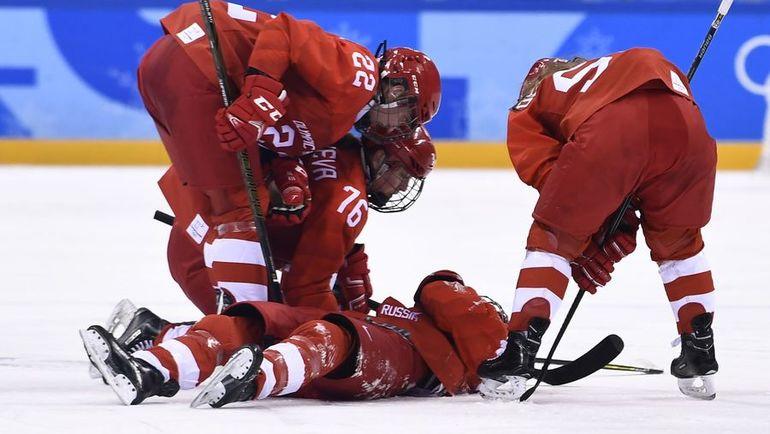 Понедельник. Пхенчхан. Канада - Россия - 5:0. На льду - Анна ШОХИНА. Фото AFP
