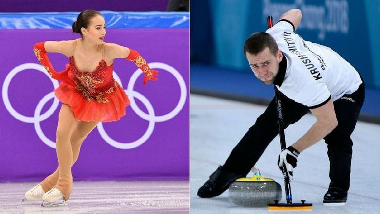 Алина ЗАГИТОВА и Александр КРУШЕЛЬНИЦКИЙ. Фото AFP