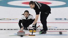 Александр КРУШЕЛЬНИЦКИЙ и Анастасия БРЫЗГАЛОВА в олимпийском Пхенчхане.