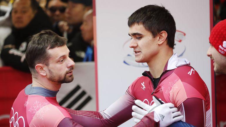 Никита ТРЕГУБОВ (справа) и Мартинс ДУКУРС. Фото Reuters
