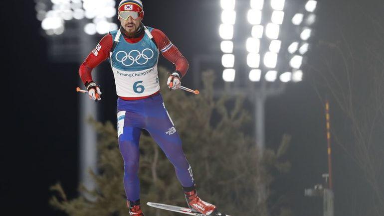 15 февраля. Пхенчхан. Тимофей ЛАПШИН во время индивидуальной гонки. Фото Reuters