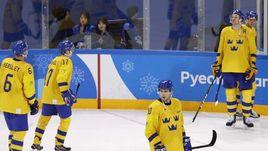 Сегодня. Пхенчхан. Швеция – Германия – 3:4 ОТ. Шведы не смогли выйти в полуфинал Олимпиады-2018.