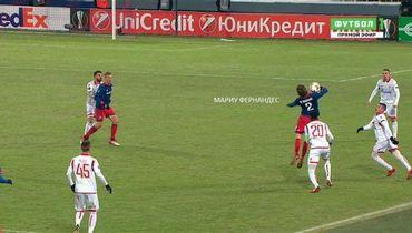 Голевая комбинация ЦСКА началась с игры рукой