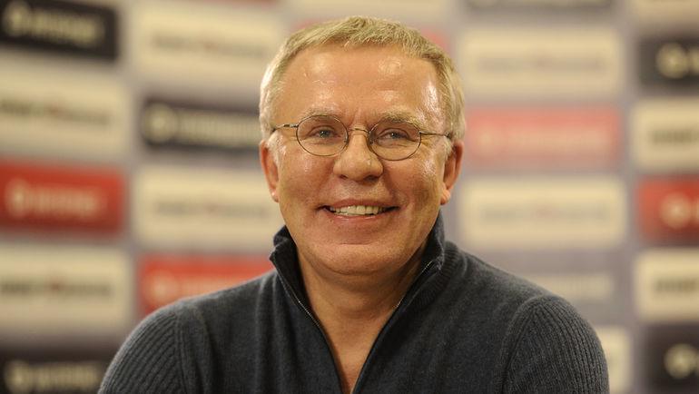 Вячеслав ФЕТИСОВ. Фото Алексей ИВАНОВ