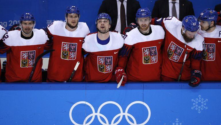 Среда. Пхенчхан. Чехия - США - 3:2 Б. Игрок сборной Чехии во время серии буллитов. Фото REUTERS