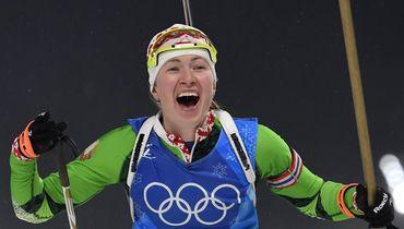 Домрачева дала совет российскому биатлону
