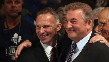 Легендарные вратари Доминик ГАШЕК и Владислав ТРЕТЬЯК.
