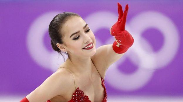 Сегодня. Пхенчхан. Алина ЗАГИТОВА стала олимпийской чемпионкой. Фото Reuters